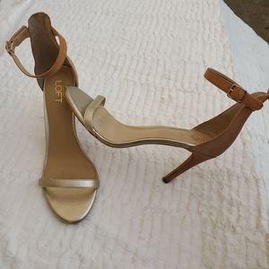 2 Strap Ankle Toe High Heel Sandals